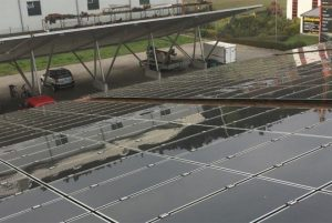 107KWp Dachanlage Niedersachsen